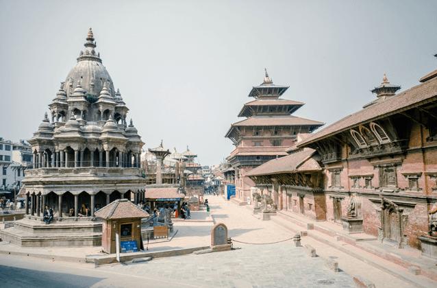 Krishna Temple of Patan Durbar Square, Province 3 of Nepal