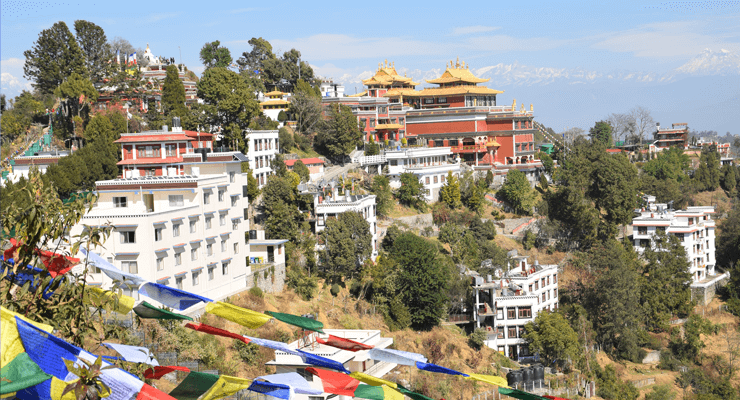 Namobuddha Monastery which is located in Province 3 of Nepal