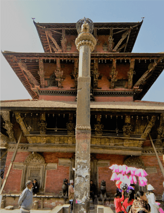 Patan Durbar Square which is located in Province 3 of Nepal