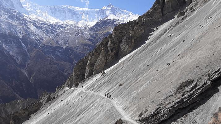 Tilicho lake trek - Province 4 of Nepal