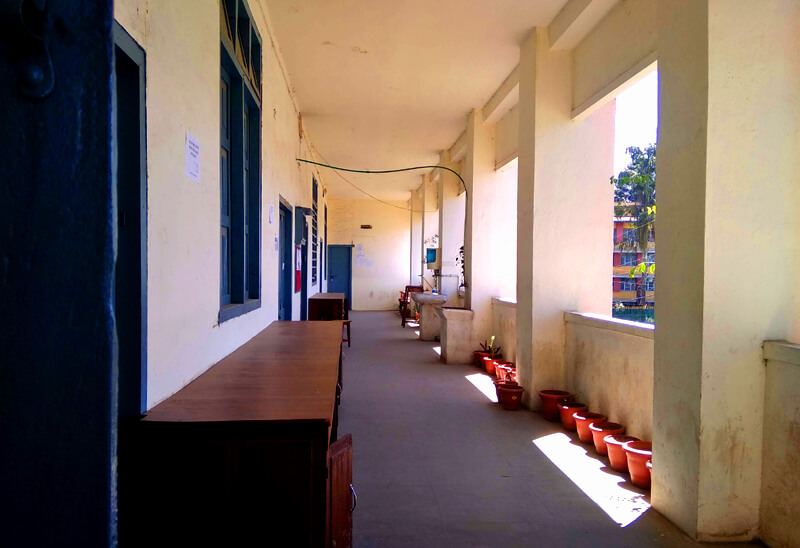 Zoology department of Tri-Chandra College.
